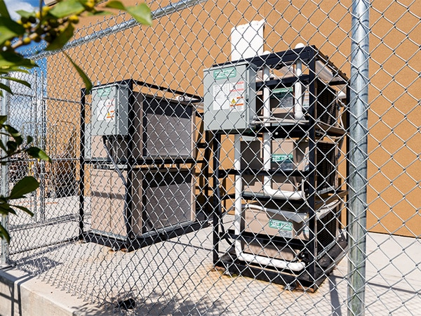 Condensing Unit Skids Commercial Refrigeration Zero Zone